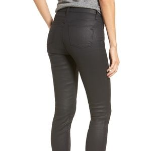 Madewell Plus Size 32 Black Skinny Jeans High Rise